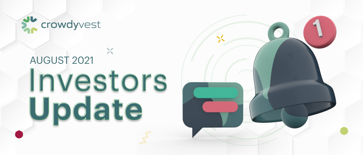 Investors update for August